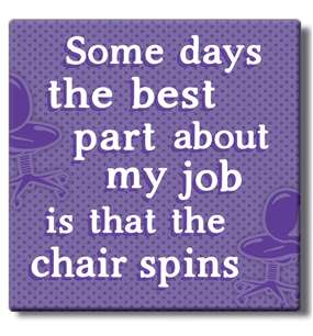 50014 SOME DAYS...CHAIR SPINS - COASTER