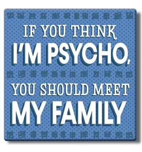 50049 IF YOU THINK I'M PSYCHO (PG) - COASTERS