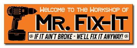 60036 MR. FIX-IT - 5X16