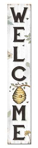 60734 WELCOME - SPRING BEE - PORCH BOARD 8X46.5