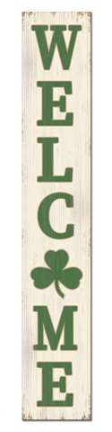 60743 WELCOME - SHAMROCK - PORCH BOARD 8X46.5
