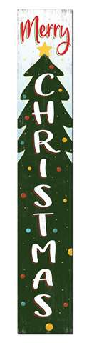 60790 MERRY CHRISTMAS - PORCH BOARD 8X46.5