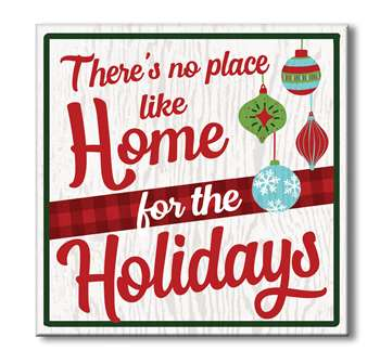 61094 THERE'S NO PLACE LIKE HOME FOR THE HOLIDAYS - CHUNKIES 6X6