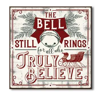 61097 THE BELL STILL RINGS FOR ALL WHO TRULY - CHUNKIES 6X6