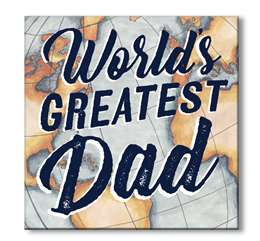 61158 WORLD'S GREATEST DAD - CHUNKIES 6X6