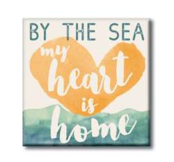 61218 BY THE SEA MY HEART IS HOME - 4X4