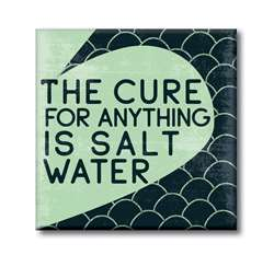 61222 THE CURE FOR ANYTHING IS SALT WATER - 4X4