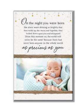 62028 ON THE NIGHT YOU WERE BORN - STANDING PHOTO HOLDER