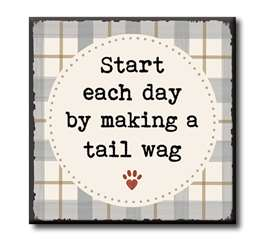 63026 START EACH DAY WITH MAKING A TAIL WAG - CHUNKIES 4X4