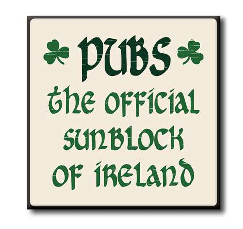 63102 PUBS - THE OFFICIAL SUNBLOCK OF IRELAND - CHUNKIES 4X4