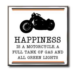 63117 HAPPINESS IS A MOTORCYCLE 4X4