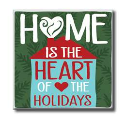 63148 HOME IS THE HEART OF THE HOLIDAYS - CHUNKIES 4X4