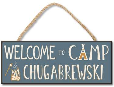 70952 WELCOME TO CAMP CHUGABREWSKI 4X10