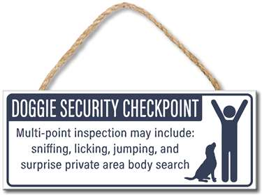70953 DOGGIE SECURITY CHECKPOINT - 4X10