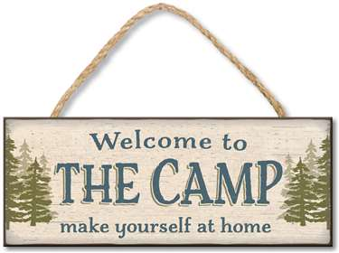 71277 WELCOME CAMP MAKE YOUSELF AT HOME - 4X10