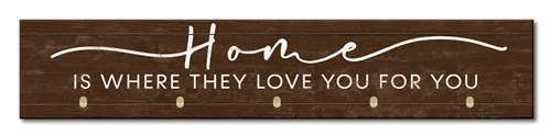 73177 HOME IS WHERE THEY LOVE YOU - MASK HOLDER 3.5X18