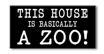 75133 THIS HOUSE IS BASICALLY A ZOO - 3X6 BLOCKS BLACK