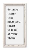 76118 HC DO MORE THINGS THAT MAKE YOU - 8X15 PROFILE FRAME