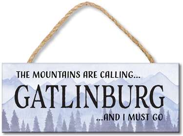 76283 THE MOUNTAINS ARE CALLING - CUSTOM TOWN 4X10
