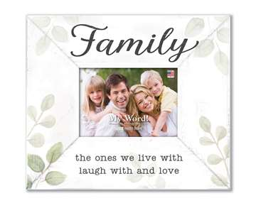 77206 FAMILY THE ONES WE - 10X12 FRAME (4X6 PHOTO)