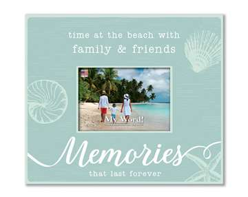 77221 TIME AT THE BEACH - 10X12 FRAME (4X6 PHOTO)