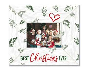 77223 BEST CHRISTMAS EVER - 10X12 FRAME (4X6 PHOTO)